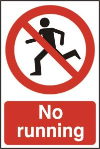 no-running-vandal-resistant-polycarbonate-200-x-300mm-sign-no-cnmpmf-clipart